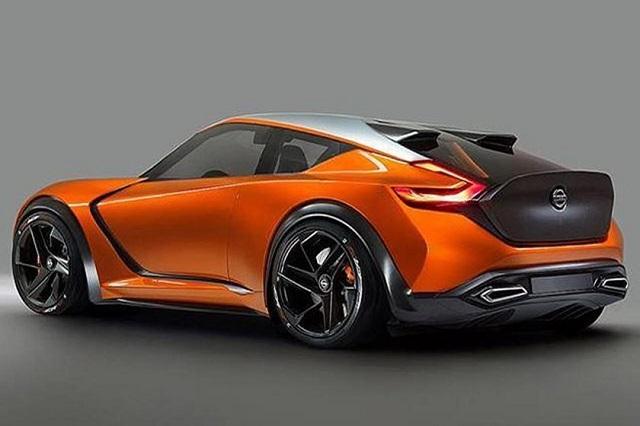 2020 Nissan 400Z Rear