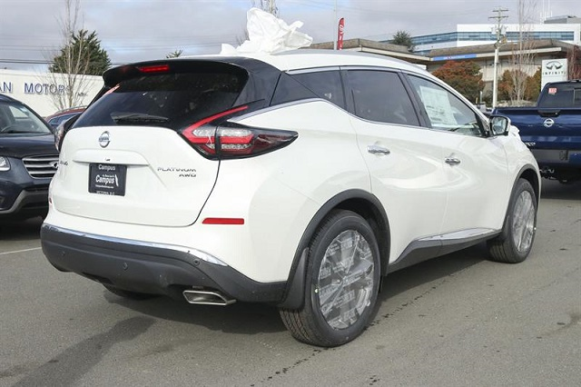 Nissan Murano rear view