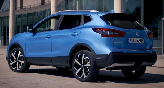 2020 Nissan Qashqai rear