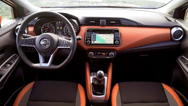 2020 Nissan Micra Interior