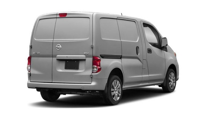 2020 Nissan NV200 rear view