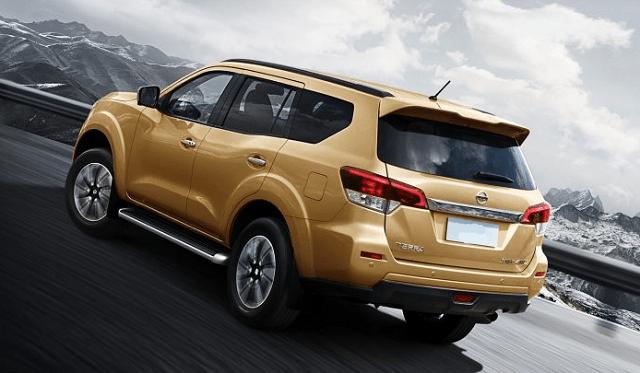 2020 Nissan Xterra rear view