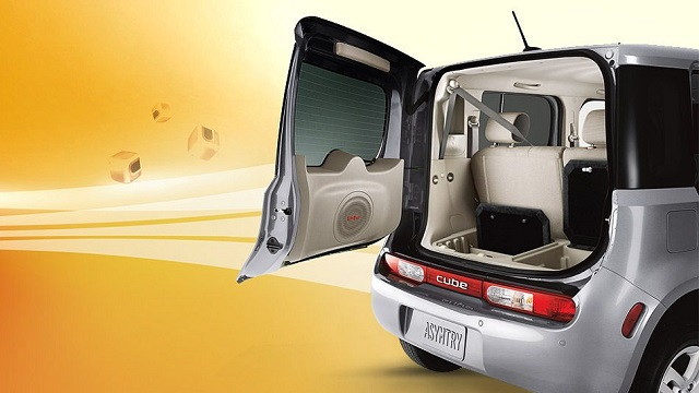 2020 Nissan Cube cargo