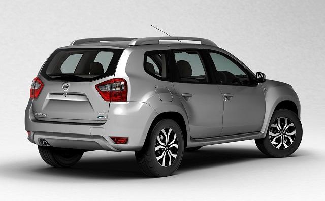 2020 Nissan Terrano rear