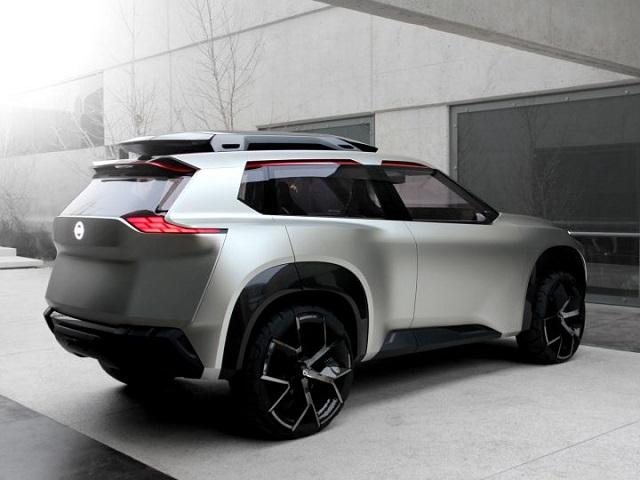 Nissan Xmotion Concept rear