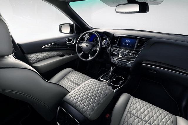 2020 Infiniti QX60 interior