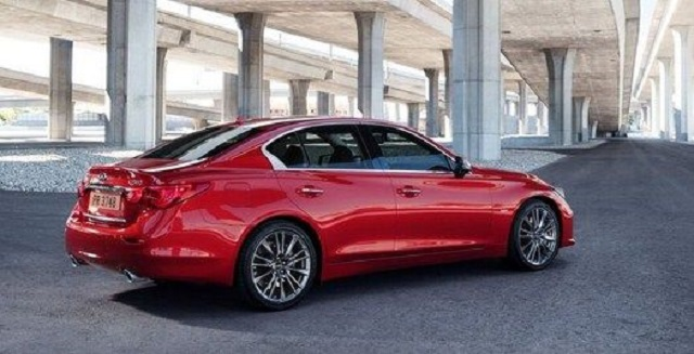 2021 Infiniti Q50 red sport