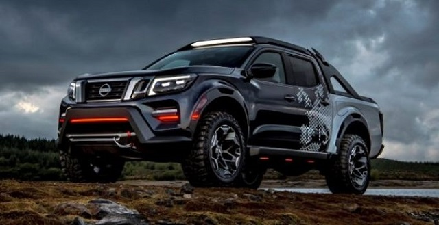 2021 Nissan Frontier concept