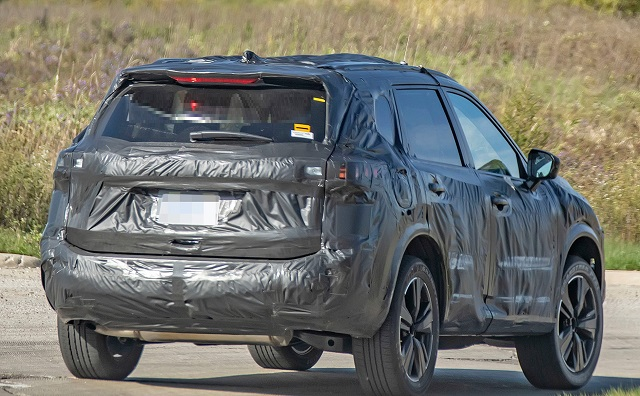 2021 nissan rogue spy photos
