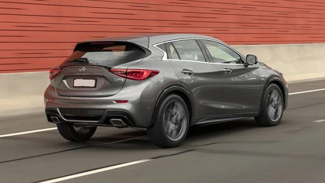 2021 Infiniti QX30 luxe