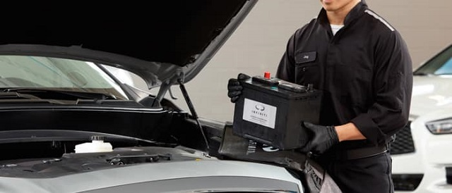 Infiniti Maintenance Battery replacement