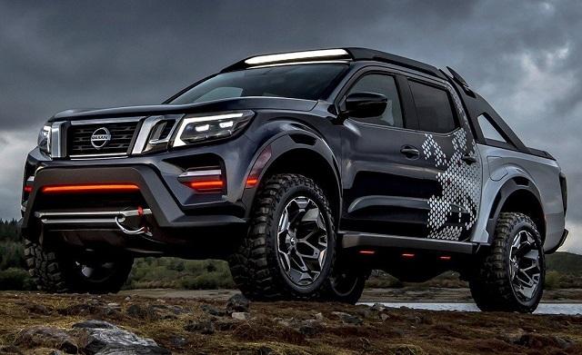 Next-Generation Nissan Frontier Rendering