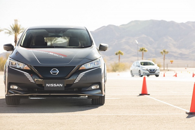 Nissan Leaf With New E-4orce System