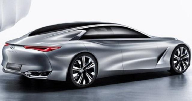 2022 Infiniti Q80 rear view