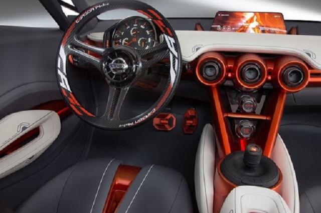 Nissan 400Z interior render