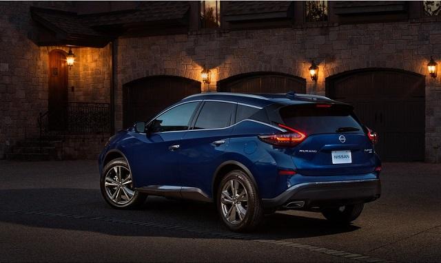 2022 Nissan Murano release date