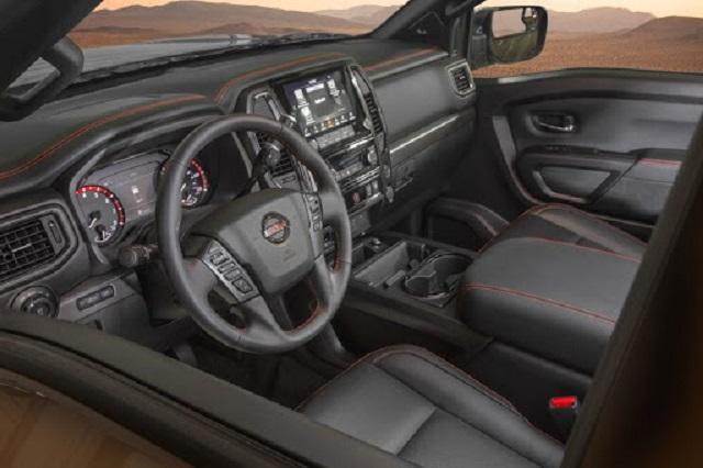 2022 Nissan Titan Interior