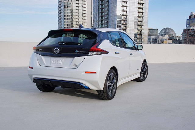 2022 Nissan Leaf release date